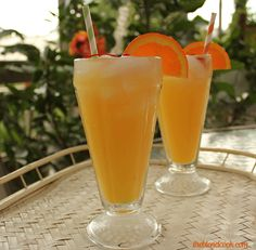 Creamsicle Delight  @Tara Harmon Royles we need to try this....OJ = healthy right?
