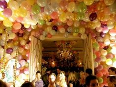 Party Balloon Idea
