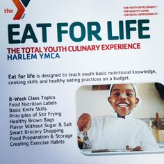 Eat For Life@YMCA Ha