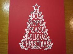 christmas tree word art svg 2