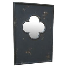 I pinned this Quatrefoil Wall Mirror in Black from the Guildmaster event at Joss and Main!