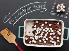 food network, brownie recipes, foods, browni recip, bowl cocoa