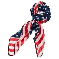 Get your Large Flag Scarf at Purple Box Jewelry for only $10.90 along with all your other favorite light weight scarves.