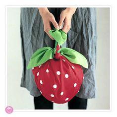 furoshiki strawberry!