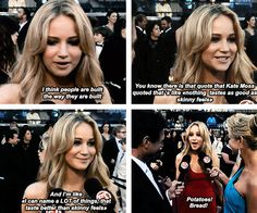 Jennifer Lawrence is the best