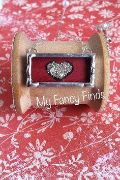 Soldered Heart Charm. So Sweet