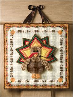 Turkey Gobble Wall Hanging (e-patterns Central )