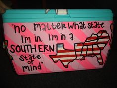 best part about this cooler? oklahoma is not included in the south. they got it right.