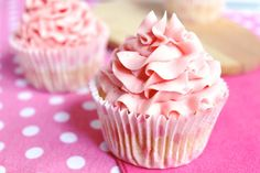 Pink Lemon Cupcakes