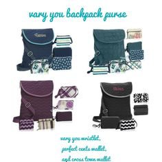 Thirty-One Gifts - Purse and totes and wallets, Oh My!  Check them out!   #ThirtyOneGifts #ThirtyOne #Monogramming #Organization #StyleAndFunction