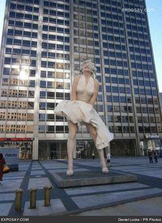 palm springs, chicago statu, statues, monro chicago, palms, favorit citi, marilyn monroe statue, monro statu, statu chicago