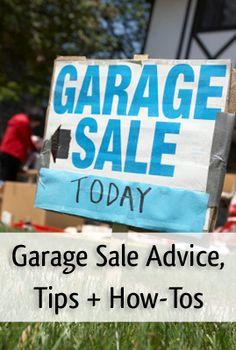 planning a garage sale, garage sales, garag sale
