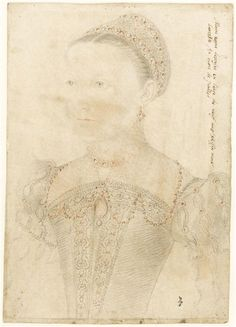 Portrait of Mary, Queen of Scots by François Clouet, 1552