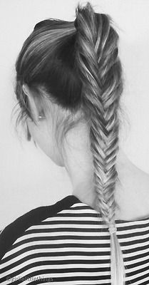 fishtail braid .