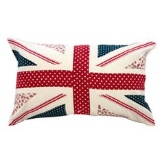 Union jack cushion- @Jen Boyton this one's for you!