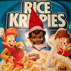 Elf on the Shelf and his magical mischief