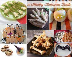 {Holidays} – 10 Healthy Halloween Treats