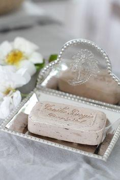 Pretty bath soap