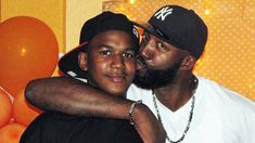 Trayvon Martin and his Father