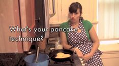 What's your pancake technique? Are you an over checker like me? Or are you cool as a cucumber and patient like pudding letting the pancake cooking fully before you flip?