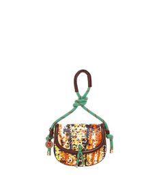 #MMissoni | Orange Mock-crock Shoulder bag | Summer 2014 Collection