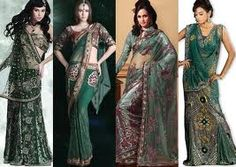 bridal sarees are, generally, heavily embroidered with loads of sequin, moti, stone, thread and various other kinds of stylish work being carved. sare indianwear, sari sari, bridal sare, indian outfit, sare drape, outfit sare, beauti indian, indian clothescak, sari sare