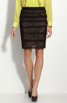 I think I need this BCBG skirt!