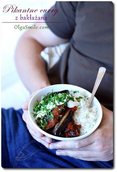 Pikantne curry z bakłażana Olgi Smile