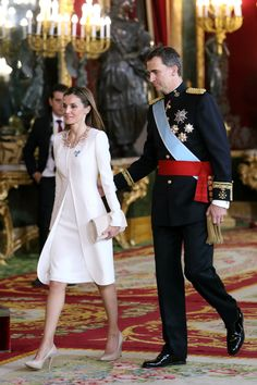 1. For starters, she's Queen Letizia now. So how could she not be a style icon?Wearing: Felipe Varela via StyleList