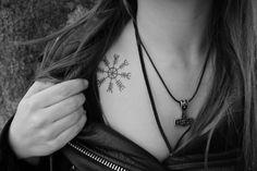 ægishjalmur tattoo life, beauti, ægishjalmur, tattoo inspir, awesom tattoo, pagan tattoo