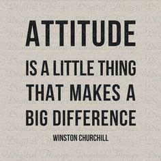 Winston Churchill Attitude Quote