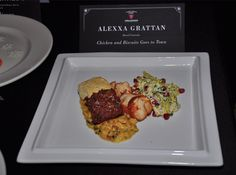 Alexxa Grattan Wins S. Pellegrino Almost Famous Chef Mid-Atlantic Competition – chicken and biscuits goes to town  #AFC13