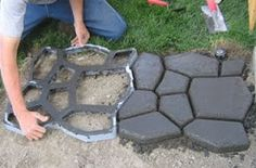 patio pavers diy, walk maker, patio surface, diy walk