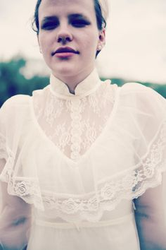 White Cream Lace and Ivory