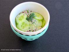 Susi's Kochen Und Backen Adventures: German Cucumber Salad (Gurkensalat)