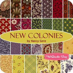 New Colonies Yardage Nancy Gere for Windham Fabrics