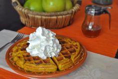Pumpkin Waffles | Mogwai Soup