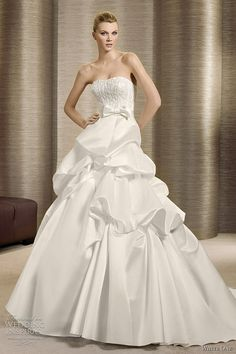white one wedding dresses 2012