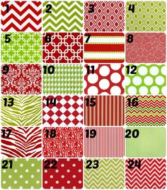 Christmas placemats Holiday placemats on Etsy, $9.00