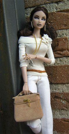 Oh sole mio Fashion for Silkstone Barbie and by Delmoltoamore...40...4