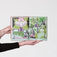 Cut paper illustrations by Petra Börner