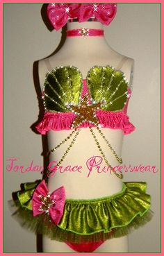 Swimwear 071-Jordan Grace Princesswear custom pageant swimwear