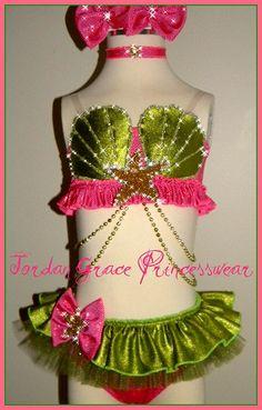Swimwear 071-Jordan Grace Princesswear custom pageant swimwear
