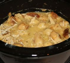 Chicken Dumplings Crockpot Soup