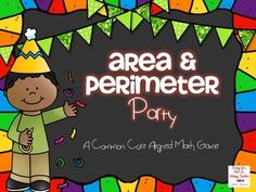 A fun game that will really help students to master area and perimeter! 50% off until February 4th at 6AM MST!