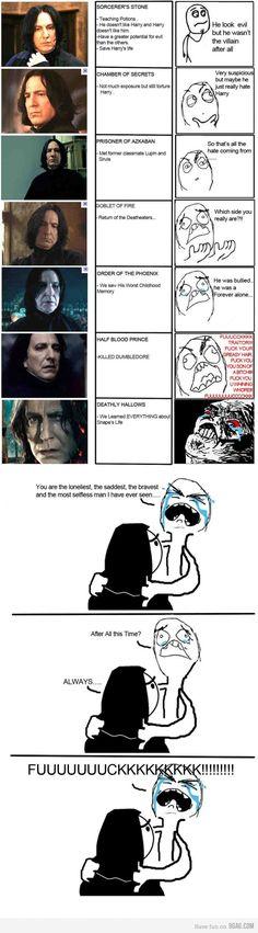 Snape = <3 love love love