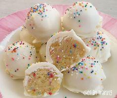no-bake cake batter truffles!!!