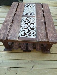 Pallet Coffee Table Turtorial