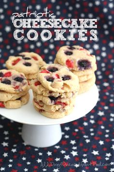 cheesecak cooki, strawberry cookies recipe, chees cooki, patriot cheesecak, low carb cheesecakes, low sugar food, cookie recipes, cheesecake cookies