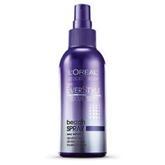 EverStyle Texture Series Beach Spray - Styling Spray. Sea-Salt Infused. For Textured Waves. This styling spray leaves hair softly tousled and texturized without any build up. No uptight style. Just sexy, windswept waves. All Day Beach Waves, Alcohol Free, 100% Vegan, No Synthetic Dyes